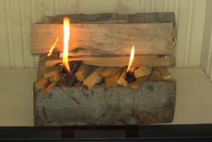 Správne naložené drevo